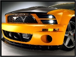 Ksenony, Ford Mustang, Grill