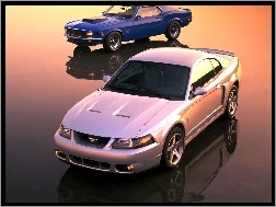 Modele, Mustang, Ford, Dwa
