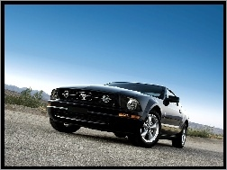 Package, Ford Mustang V6, Pony